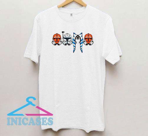 Star Wars Ahsoka Tano And Stormtrooper T Shirt