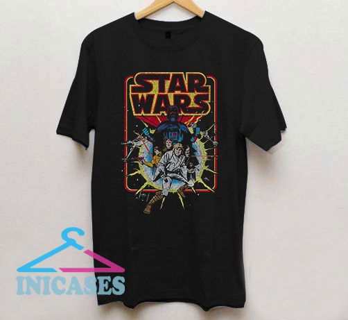 Star Wars Comic Heroic T Shirt