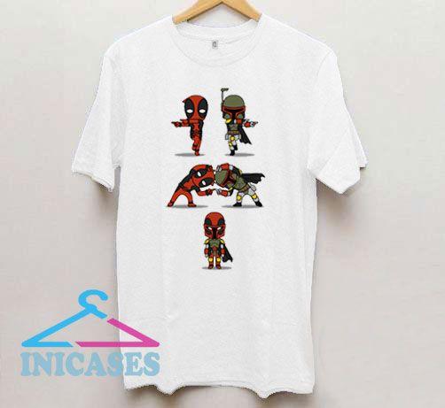 Star Wars Deadpool And Boba Fett T Shirt