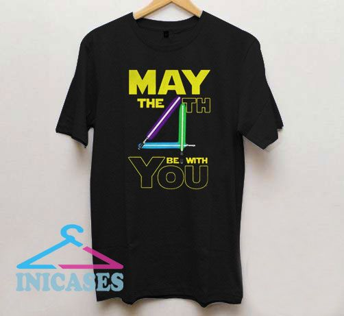 Star Wars May the 4th Be With You T Shirt