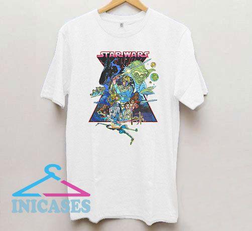 Star Wars The Movie T Shirt