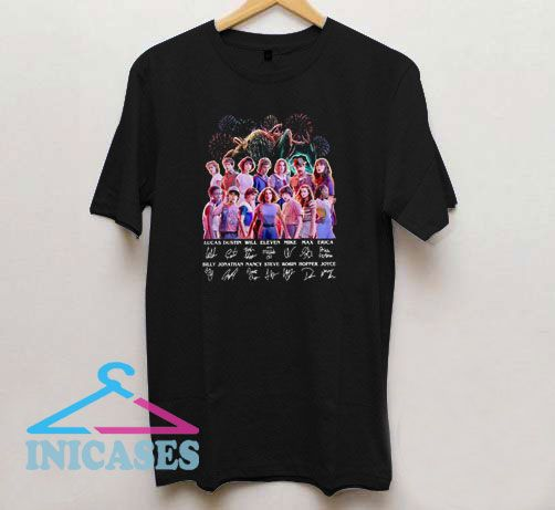 Stranger Things All Character T Shirt