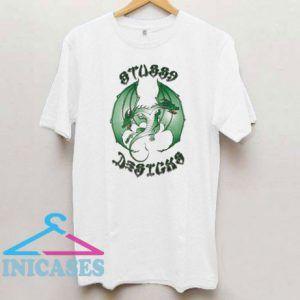 Stussy Double Dragon Pigment Dyed T Shirt