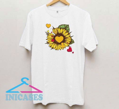 Sunflower Graphic Loves T Shirt
