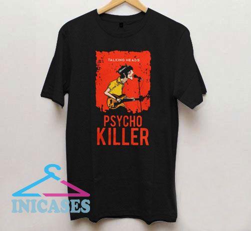 Talking Heads Psycho Killer T Shirt