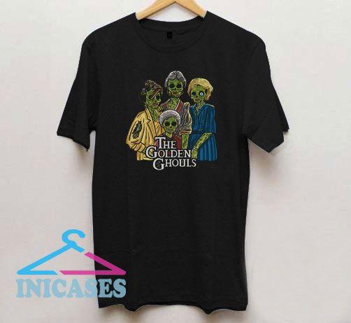 The Golden Ghouls Parody Horror T Shirt