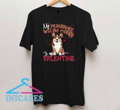 Valentine's Day Dog Mom T Shirt