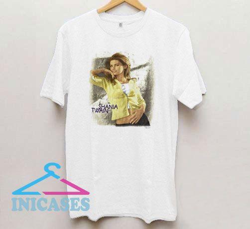 Vintage 90s Shania Twain T Shirt