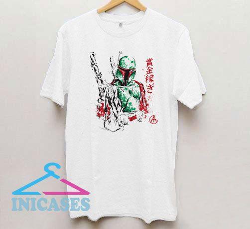 Vintage Star Wars Boba Fett T Shirt