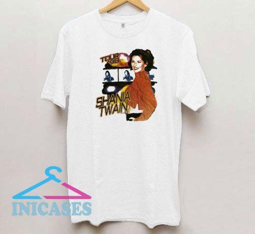 Vtg Shania Twain Tour 1998 T Shirt