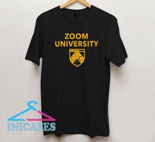 Zoom University Logo T Shirt