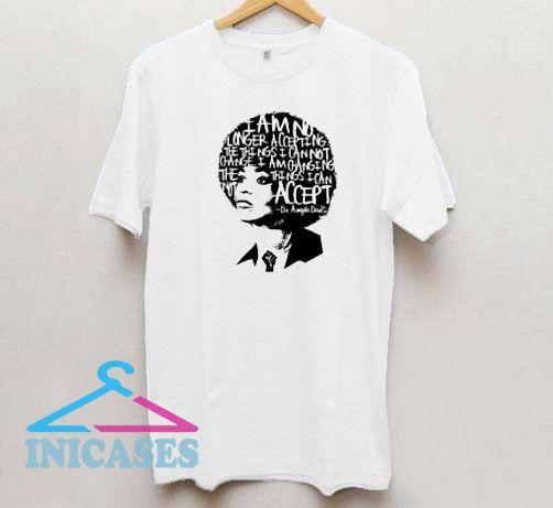 Angela Davis Hair Art T Shirt