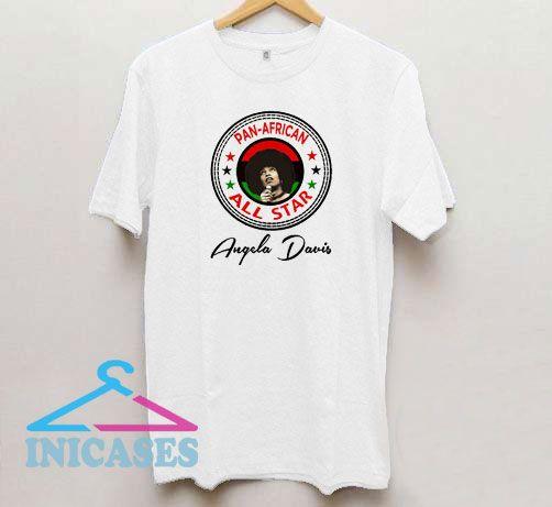 Angela Davis Panther Melanin T Shirt