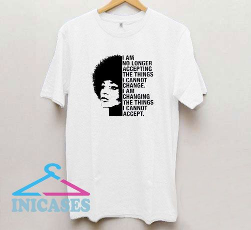 Angela Davis Quotes T Shirt