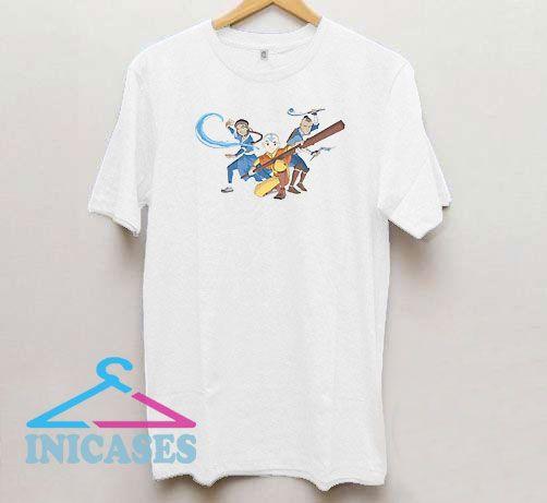 Avatar The Last Airbender Attack T Shirt