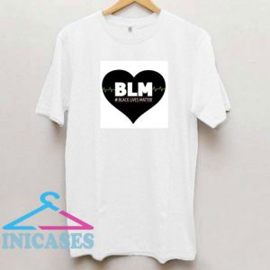 BLM Heartbeat T Shirt