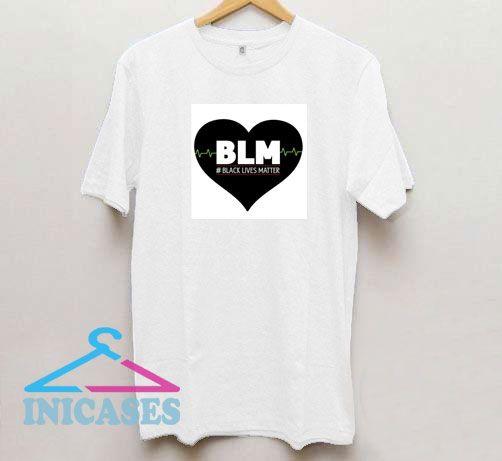 BLM Heartbeat T Shirt