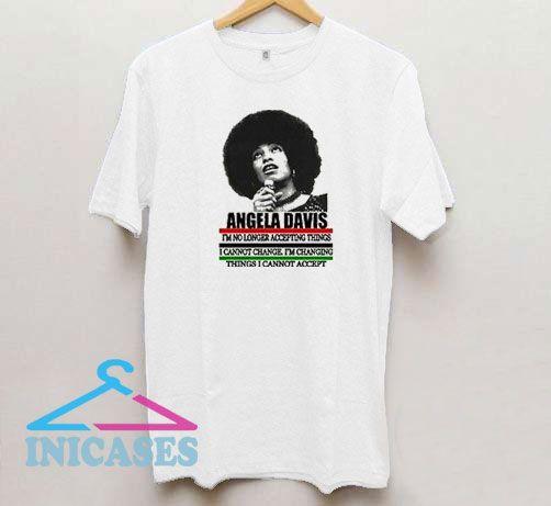 Black History Angela Davis T Shirt