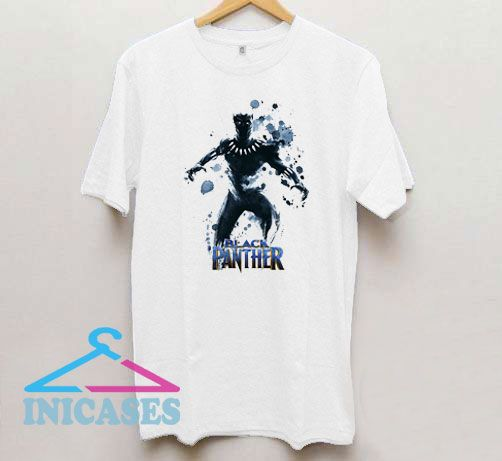 Black Panther Abstract Art T Shirt