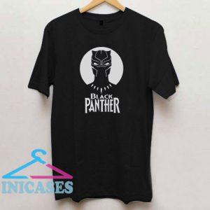 Black Panther Art Face T Shirt