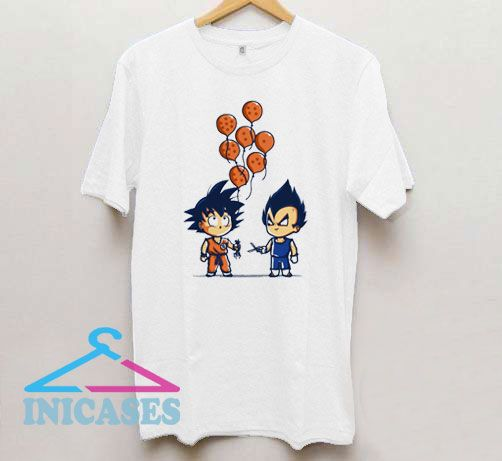 Cuting Balloon Dragon Ball T Shirt