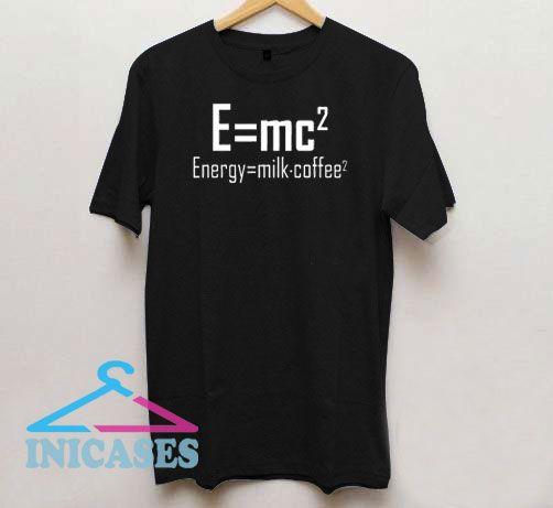 Energy Milk x Coffee Chemistry T Shirt