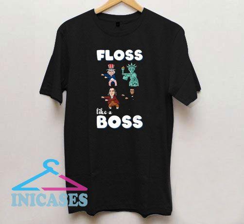 Floss Like a Boss Dabbing T Shirt