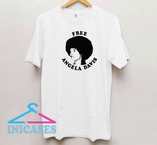 Free Angela Davis T Shirt