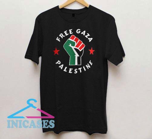 Free Gaza Palestine T Shirt