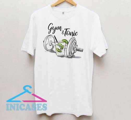Gym & Tonic Graphic T Shirt