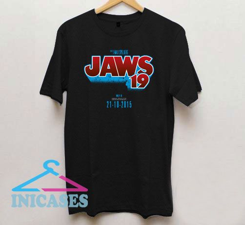 Jaws 19 Back To The Future T Shirt