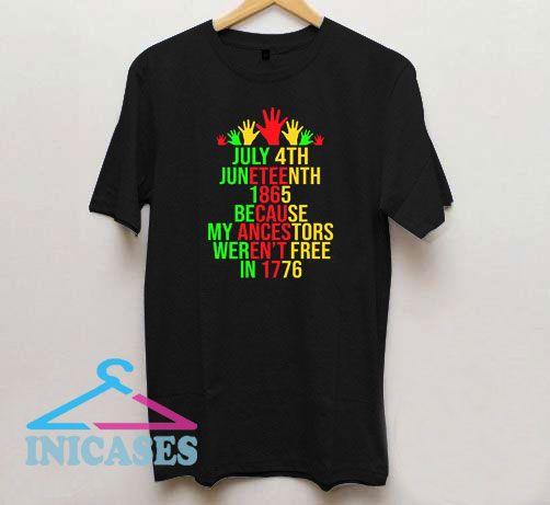 Juneteenth 1865 T Shirt