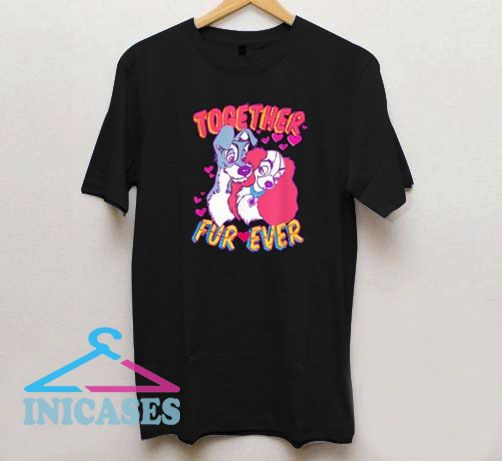 Lady and the Tramp Together T Shirt