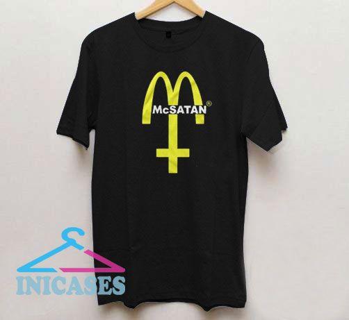 Mc Satan Evil Burger T Shirt