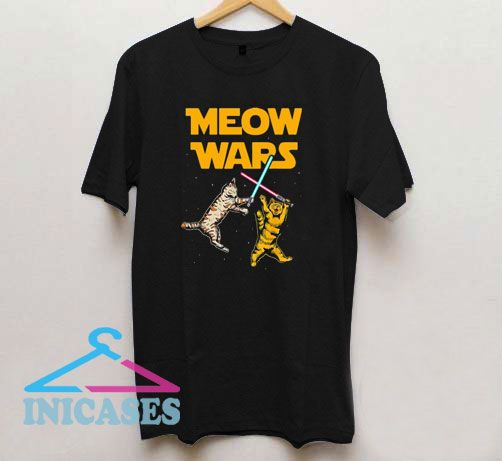 Meow Wars Star Wars Cat Lovers T Shirt