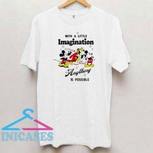 Mickey Imagination Anything T Shirt