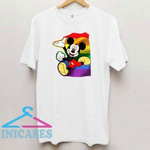 Mickey Mouse LGBT Pride T Shirt