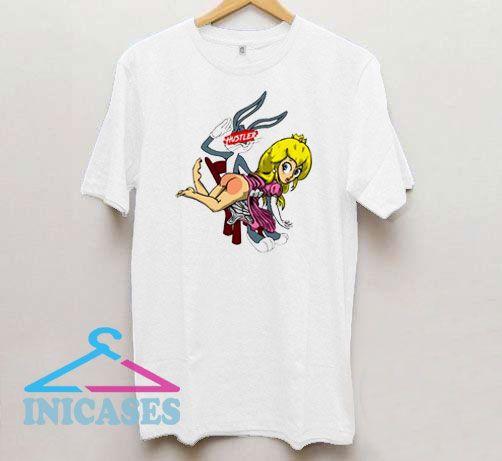 Naughty Bugs Bunny Looney Tunes T Shirt
