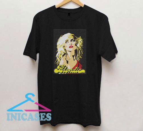 Rock Never Die Blondie T Shirt
