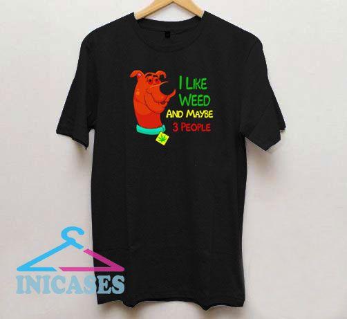 Scooby-Doo I Like Weed T Shirt