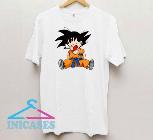 Sleepiing Kid Dragon Ball T Shirt