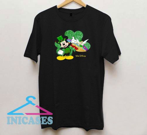 St Patrick's Day Mickey Rapper T Shirt