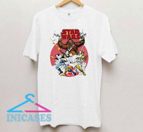Starwars Comic Retro T Shirt