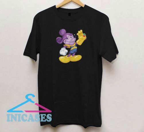Thanos Mickey Mouse T Shirt