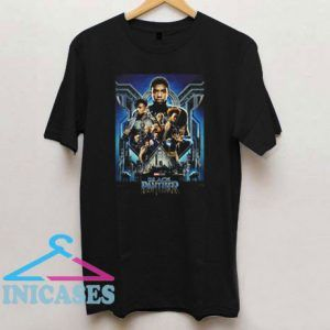The Black Panther Movie Poster T Shirt