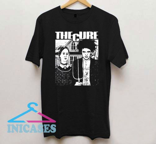 The Cure Robert Smith T Shirt