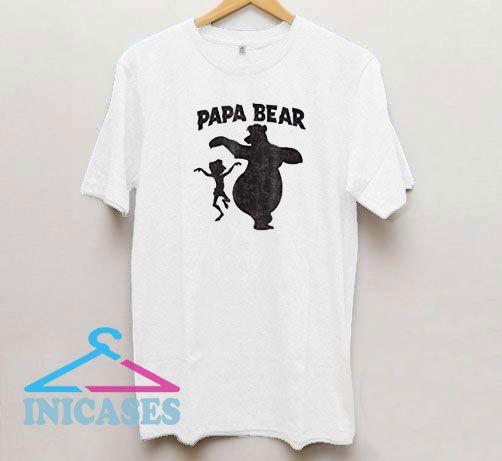 The Jungle Book Papa Bear T Shirt