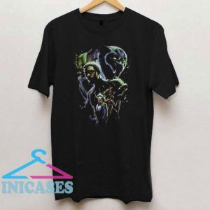 Vintage Black Panther Poster T Shirt