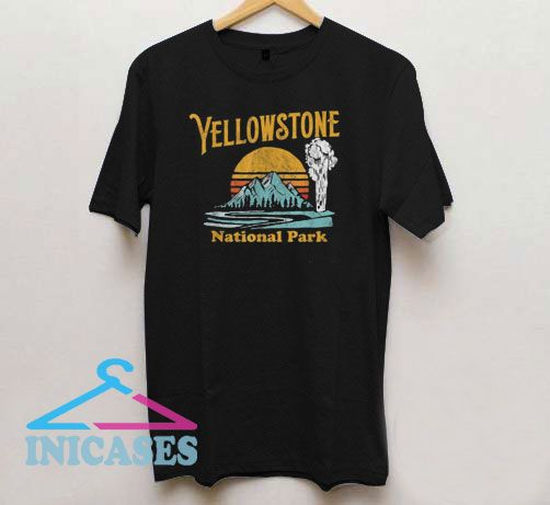 Vintage Yellowstone National Park T Shirt