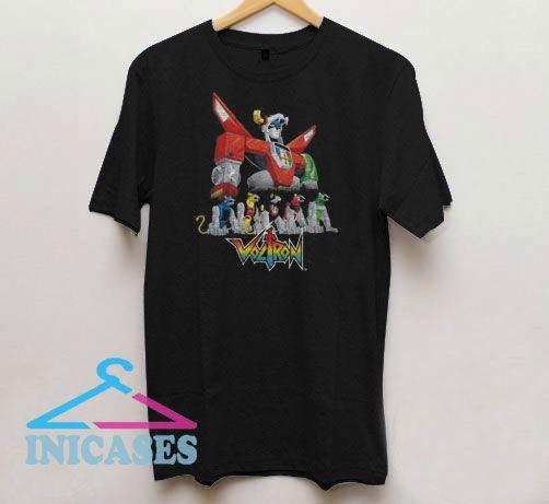 Voltron Lions Movie T Shirt